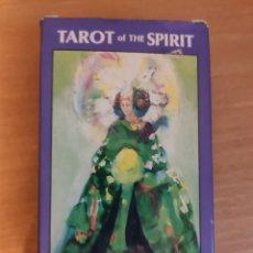 Jeux de cartes: TAROT OF THE SPIRIT BY PAMELA & JOYCE EAKINS - BARAJA CARTAS NAIPES - DECK REVEALS THE TRUE SPIRIT. Lote 252153565