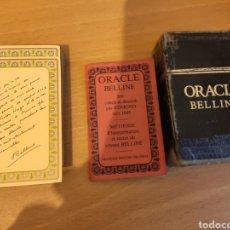 Barajas de cartas: TAROT ORACLE BELLINE - BARAJA CARTAS NAIPES - GRIMAUD. Lote 269026084