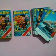 Barajas de cartas: BARAJA FRAGGLE ROCK - FOURNIER AÑO 1984 - NUEVA A ESTRENAR - ERICTOYS. Lote 252344720