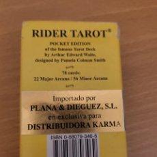 Barajas de cartas: RIDER TAROT - FALTA UNA CARTA - BARAJA CARTAS NAIPES - AGM AGMULLER. Lote 252363575