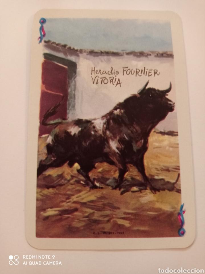 Barajas de cartas: BARAJA TAURINA. HERACLIO FOURNIER. DIBUJOS DE ANTONIO CASERO. BORDES EN ORO. NUEVA SIN USAR. ESPECTA - Foto 3 - 252381550