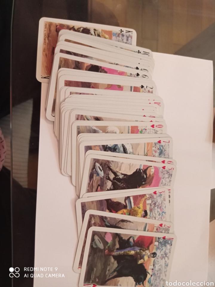 Barajas de cartas: BARAJA TAURINA. HERACLIO FOURNIER. DIBUJOS DE ANTONIO CASERO. BORDES EN ORO. NUEVA SIN USAR. ESPECTA - Foto 4 - 252381550