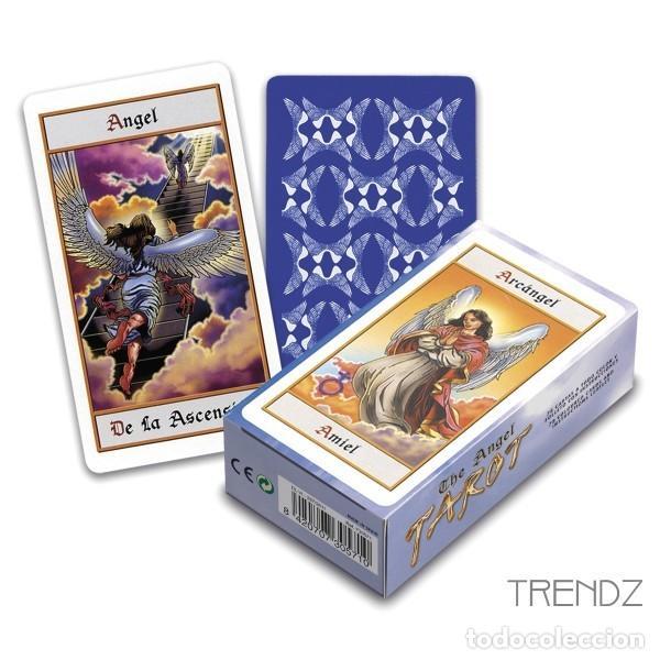 BARAJA DE CARTAS DE TAROT DE LOS ANGELES (Juguetes y Juegos - Cartas y Naipes - Barajas Tarot)
