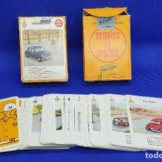 Barajas de cartas: AMG-1022 BARAJA SEÑALES DE TRÁFICO HERACLIO FOURNIER AÑOS 60. Lote 252805190
