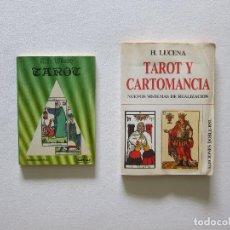 Jeux de cartes: PACK TAROT Y CARTOMANCIA. Lote 253499565