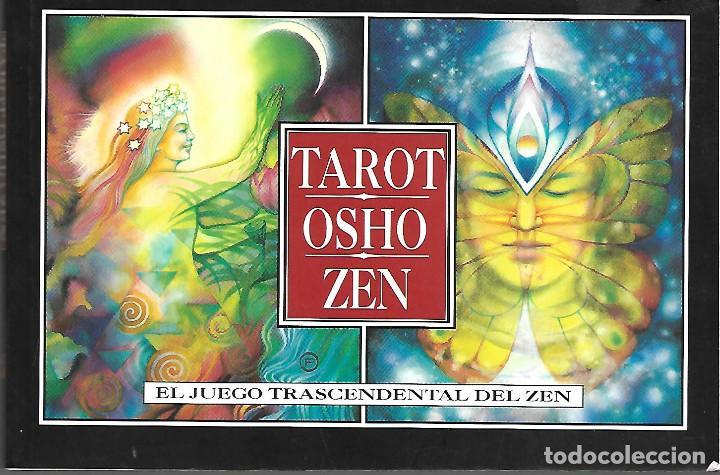 Barajas de cartas: BARAJA DE TAROT OSHO ZEN EL JUEGO TRASCENDENTAL DEL ZEN COMPLETA 79 CARTAS Y LIBRO PERFECTA - Foto 2 - 253513430