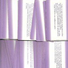 Barajas de cartas: CARTA DE TAROT LOS MENSAJES DEL UNIVERSO 54 CARTAS CON PENSAMIENTOS CLAVE. Lote 253514750