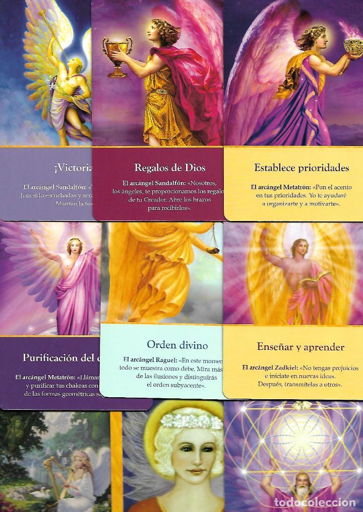 Barajas de cartas: BARAJA DE LOS ARCANGELES CARTAS ADIVINATORIAS CON CAJA Y LIBRO PERFECTO ESTADO - Foto 2 - 253519015