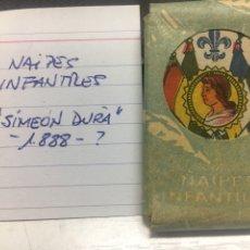 Barajas de cartas: NAIPES INFANTILES SIMEON DURA 1888. Lote 253802660