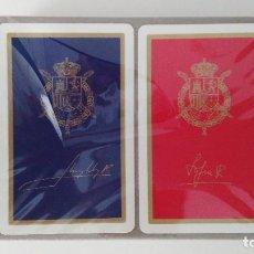 Baralhos de cartas: 2 BARAJAS FOURNIER JUAN CARLOS Y SOFIA. Lote 253877625