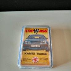 Barajas de cartas: BARAJA COCHES KAMEI TUNING NUEVA PRECINTADA CARTAS TOP ASS ACE RARA TIPO HERACLIO FOURNIER. Lote 254034045