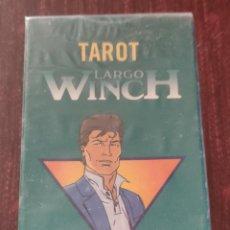Barajas de cartas: BARAJA DE TAROT COLECCION LARGO WINCH - FRANQ Y JEAN VAN HAMME (ED. DIOURIS 1998) - PRECINTADA -. Lote 254049495