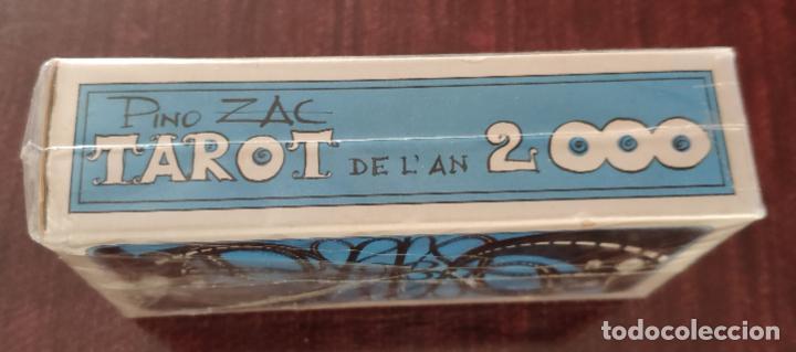 Barajas de cartas: BARAJA TAROT COLECCION DE L AN 2000 - PINO ZAC (GRINAUD 1981) -PRECINTADA- - Foto 3 - 254051290