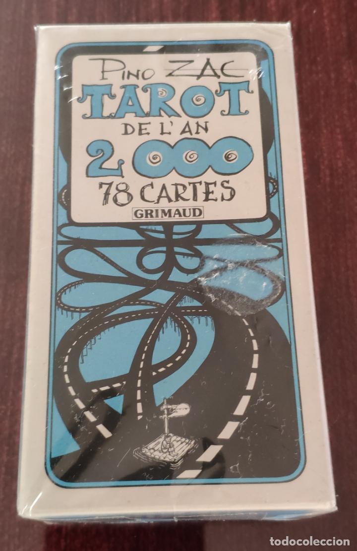 BARAJA TAROT COLECCION DE L' AN 2000 - PINO ZAC (GRINAUD 1981) -PRECINTADA- (Juguetes y Juegos - Cartas y Naipes - Barajas Tarot)