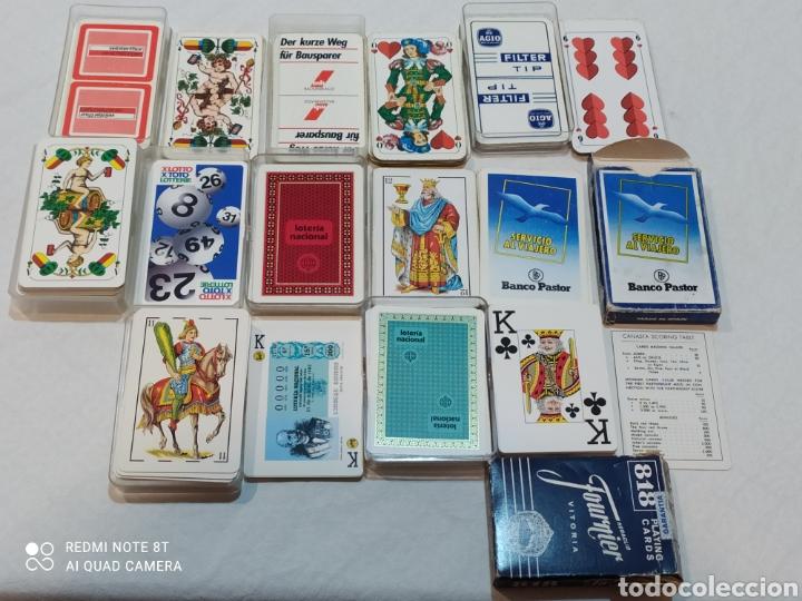Barajas de cartas: Increíble lote de 8 Barajas españolas y extranjeras - Foto 2 - 254144645