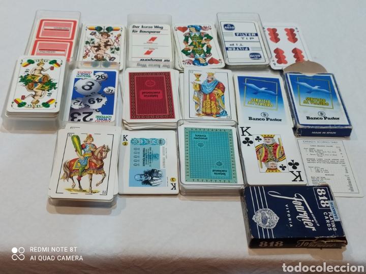 Barajas de cartas: Increíble lote de 8 Barajas españolas y extranjeras - Foto 14 - 254144645