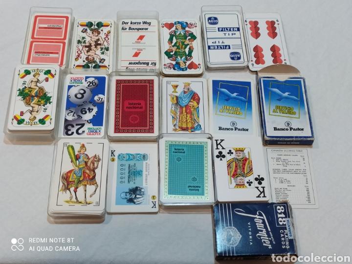 INCREÍBLE LOTE DE 8 BARAJAS ESPAÑOLAS Y EXTRANJERAS (Juguetes y Juegos - Cartas y Naipes - Baraja Española)