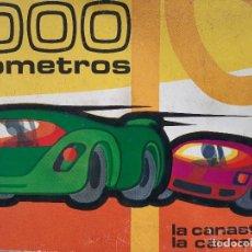 Barajas de cartas: LA CANASTA DE LA CARRETERA 1000 KILOMETROS NAIPES HERACLIO FOURNIER EDMOND DUJARDIN 1966. Lote 254292590