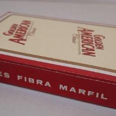 Barajas de cartas: BARAJA NAIPE ESPAÑOL 50 CARTAS HERACLIO FOURNIER PUBLICIDAD GOLDEN AMERICAN CLASSIC NUEVA. Lote 254390555