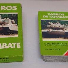 Barajas de cartas: BARAJA DE CARTAS CARROS DE COMBATE HERACLIO FOURNIER - NUEVA - DESPRECINTADA. Lote 254393905