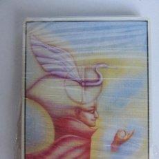 Barajas de cartas: LIBRO TAROT DEL UNIVERSO DE JOSE Mª DORIA CON 22 ARCANOS ILUSTRADOS POR RAFAEL TRELLES. Lote 254494460