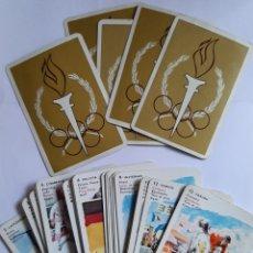 Mazzi di carte: JUEGO DE CARTAS, BARAJA COMPLETA. NAIPES FOURNIER LOS DEPORTES. Lote 254587685