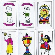 Barajas de cartas: BARAJA ESPAÑOLA FEMINISTA. Lote 254802850