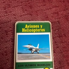 Barajas de cartas: BARAJA DE CARTAS FOURNIER AVIONES Y HELICÓPTEROS. Lote 254824175