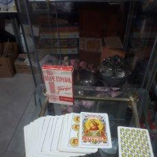 Jeux de cartes: BARAJA ESPAÑOLA FABRICADA POR HERACLIO FOURNIER PARA RENFE. Lote 255375105