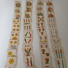Barajas de cartas: ANTIGUA BARAJA ESPAÑOLA HIJO DE TORRAS Y LLEO BARCELONA EN PERFECTO ESTADO , COMPLETA 40 CARTAS. Lote 255503740