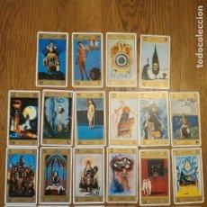 Barajas de cartas: BARAJA CARTAS 22 ARCANOS. Lote 255605495