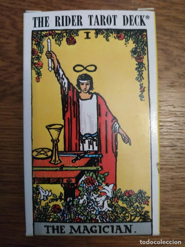 THE RIDER TAROT DECK. THE MAGICIAL (Juguetes y Juegos - Cartas y Naipes - Barajas Tarot)
