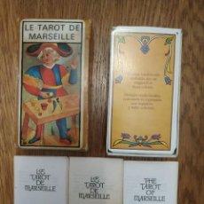 Barajas de cartas: LE TAROT DE MARSEILLE. Lote 255619270