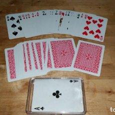 Barajas de cartas: BARAJA DE CARTAS POKER. HERACLIO FOURNIER CON ESTUCHE. Lote 255666080