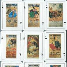Barajas de cartas: BARAJA CARTELES TAURINOS TOROS EN MONT DE MARSAN-AÑO 2008. Lote 255954340