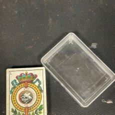 Barajas de cartas: ANTIGUAS CARTAS DE NAIPE PUJOS NUEVAS A ESTRENAR. Lote 255965495