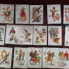 Barajas de cartas: 23 CARTAS DE LA BARAJA GRANDE 11,5CM POR 8CM CHOCOLATES EL BARCO. Lote 256160525