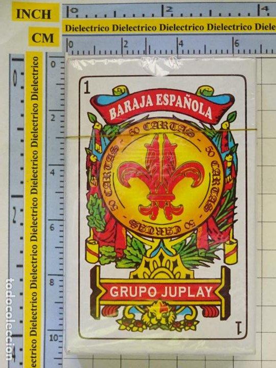 BARAJA DE CARTAS ESPAÑOLA. GRUPO JUPLAY. PRECINTADA. 90GR (Juguetes y Juegos - Cartas y Naipes - Baraja Española)