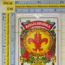 Barajas de cartas: BARAJA DE CARTAS ESPAÑOLA. GRUPO JUPLAY. PRECINTADA. 90GR. Lote 257342410