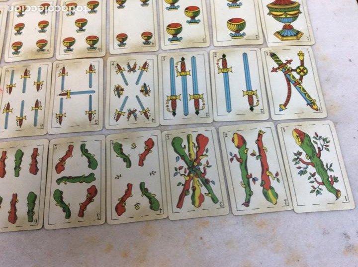 Barajas de cartas: Baraja española antigua y completa. Sin marca del fabricante. Exclusiva de colección - Foto 3 - 257393025