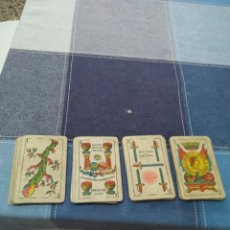 Barajas de cartas: ANTIGUA BARAJA ESPAÑOLA LA HISPANO AMERICANA JUAN ROURA,BARCELONA 48 NAIPES. Lote 257486280