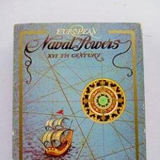 Barajas de cartas: BARAJA FOURNIER, POTENCIAS NAVALES. Lote 257658975