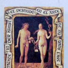 Barajas de cartas: BARAJA DE CARTAS, EL DESNUDO EN EL ARTE. Lote 257659920