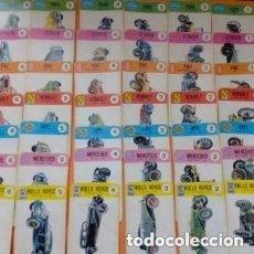 Barajas de cartas: 1968 BARAJA INFANTIL EL JUEGO DE LOS COCHES+INSTRUCCIONES JUEGO TAL CUAL SE VE EN LAS FOTOS. Lote 257791055