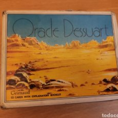 Jeux de cartes: ORACLE DESSUART CARTOMANCIA GRIMAUD 1986 - BARAJA CARTAS NAIPES TAROT. Lote 257807855
