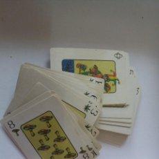 Barajas de cartas: BARAJA DE CARTAS DE PÓKER RARA Y GRACIOSA. Lote 257827020