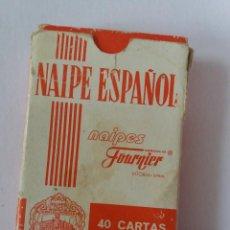 Barajas de cartas: BARAJAS DE NAIPES FOURNIER CON TRASERA DE ROYNE. Lote 257896990
