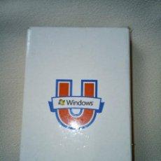 Barajas de cartas: BARAJA WINDOWS COMPLETA. Lote 258014835