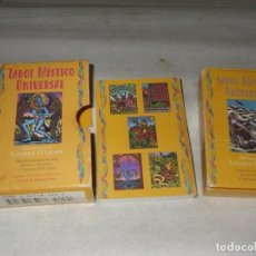 Jeux de cartes: TAROT MÍSTICO UNIVERSAL, 78 CARTAS COLOR Y MANUAL DE INSTRUCCIONES, GODINO Y O´LEARY.. Lote 258048035