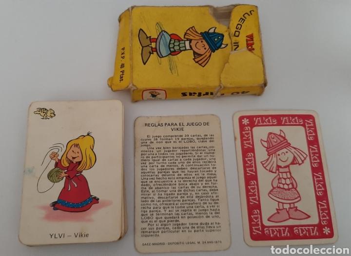 JUEGO DE CARTAS VIKIE 1975 (Juguetes y Juegos - Cartas y Naipes - Barajas Infantiles)